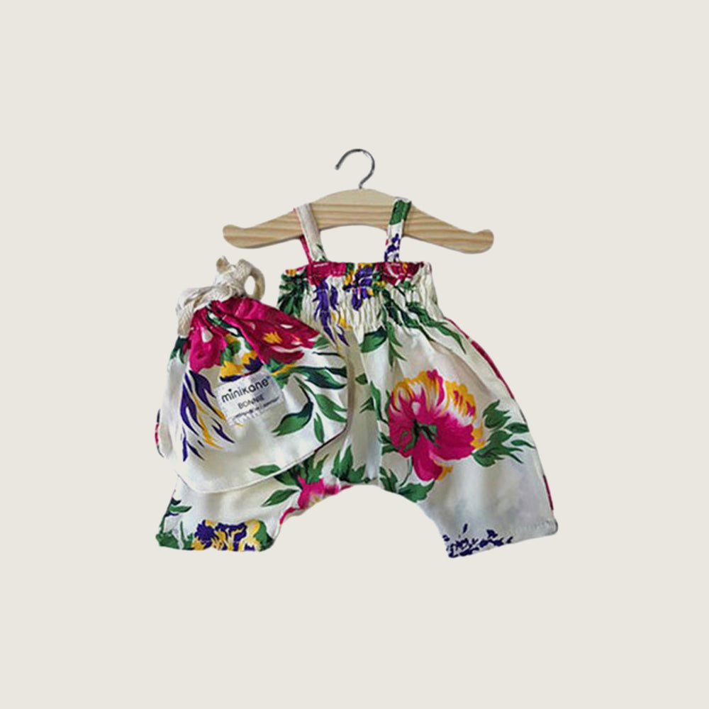Raspberry Flora Romper - Blackbird General Store