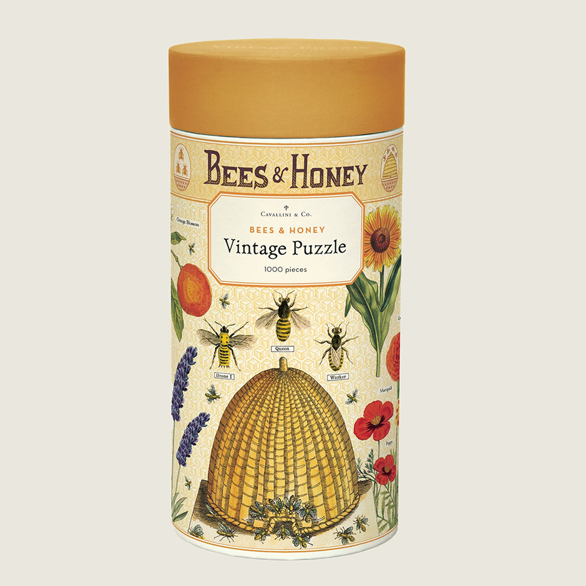 Bees & Honey Vintage Puzzle - Blackbird General Store