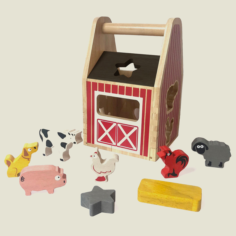 Barnyard Shape Sorter - Blackbird General Store