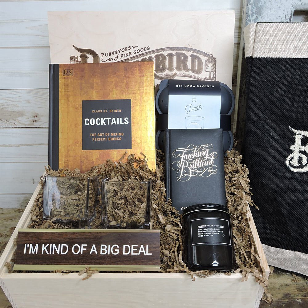 """I'm Kind of a Big Deal"" Box - Blackbird General Store"