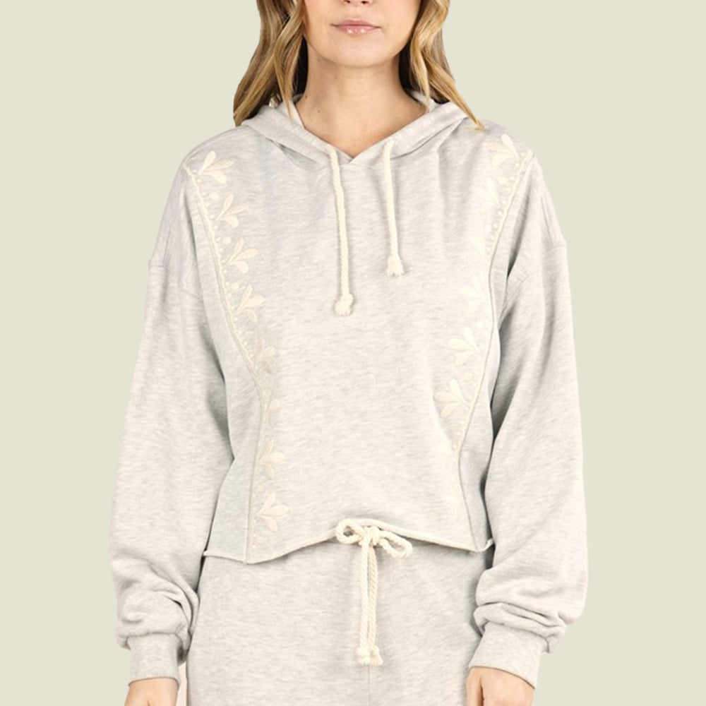 Mae Embroidered Hoodie - Blackbird General Store