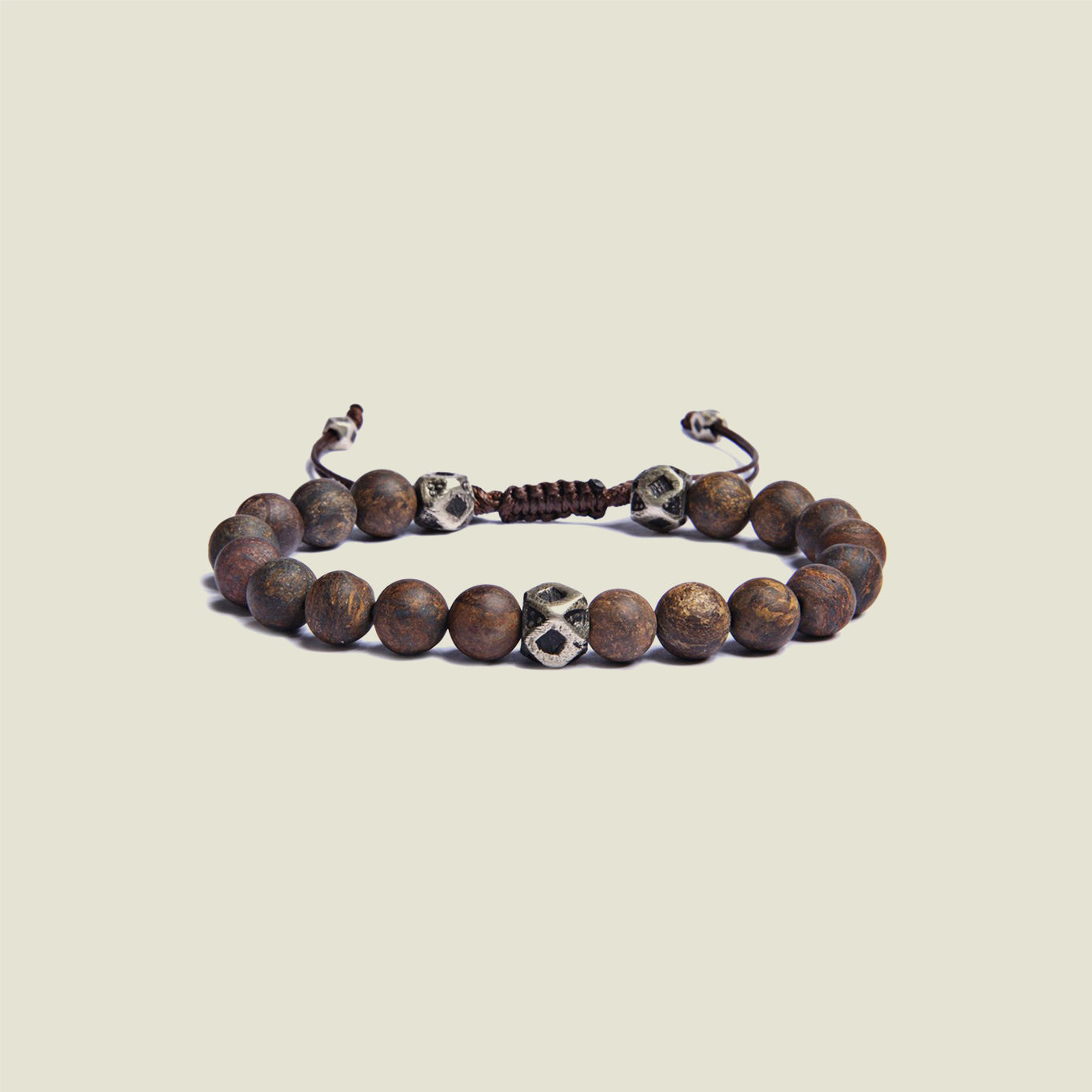Bronzite Beaded Bracelet - Blackbird General Store