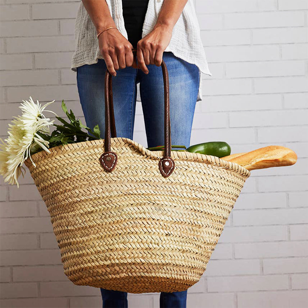 Moroccan Shopping Basket - Blackbird General Store