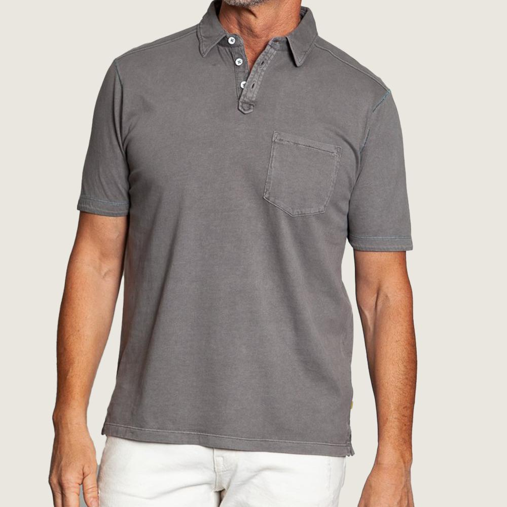 Pacific Polo - Vintage Grey - Blackbird General Store