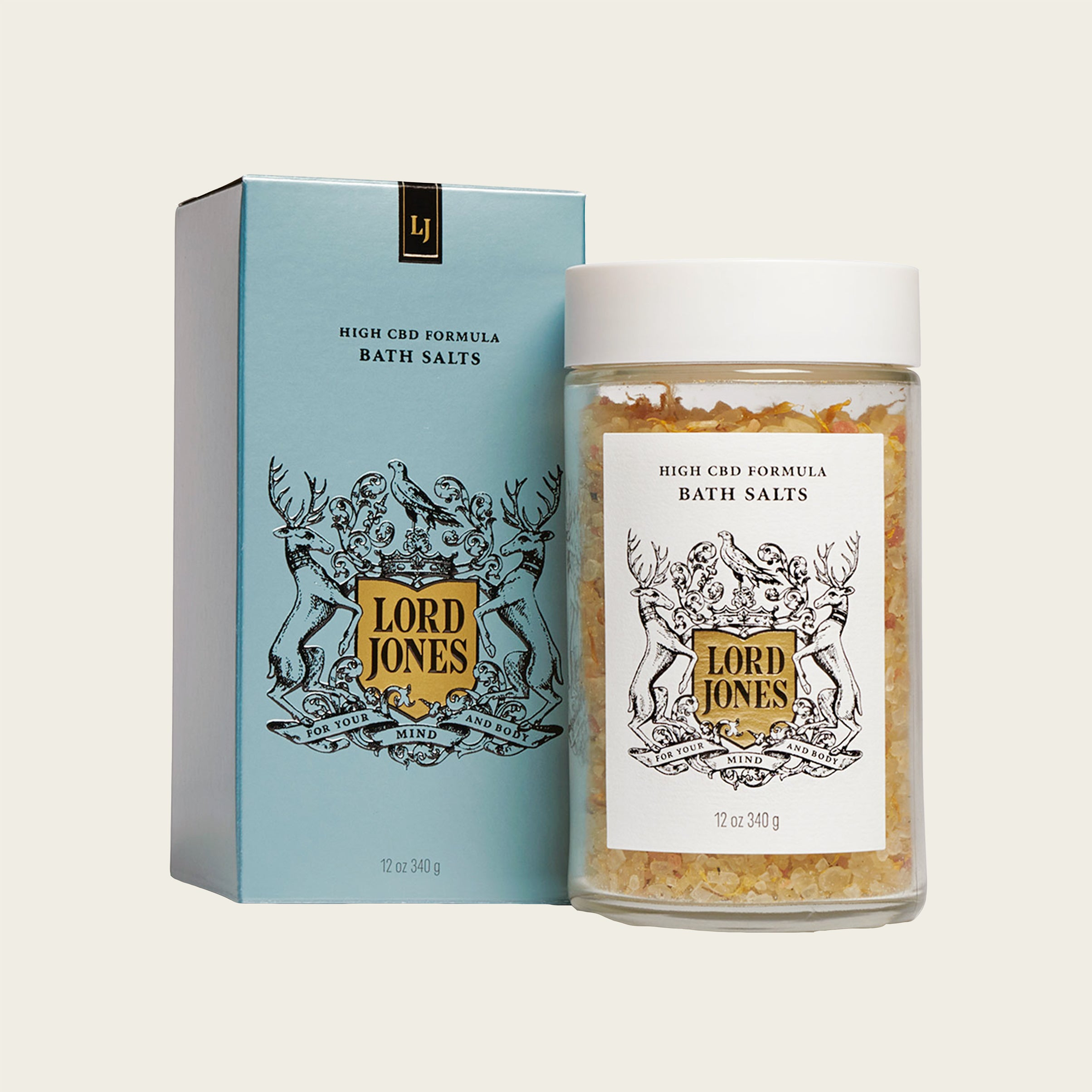 Lord Jones High CBD Bath Salts - Blackbird General Store