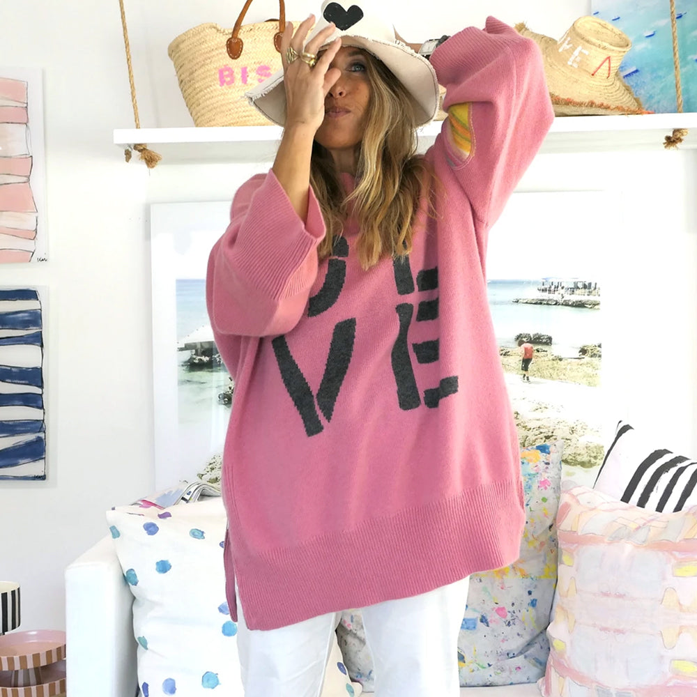 Cashmere LOVE Tunic - Blackbird General Store