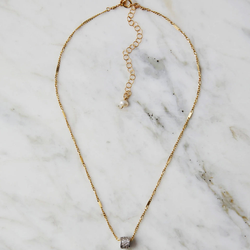 Dion Silver Necklace - Blackbird General Store