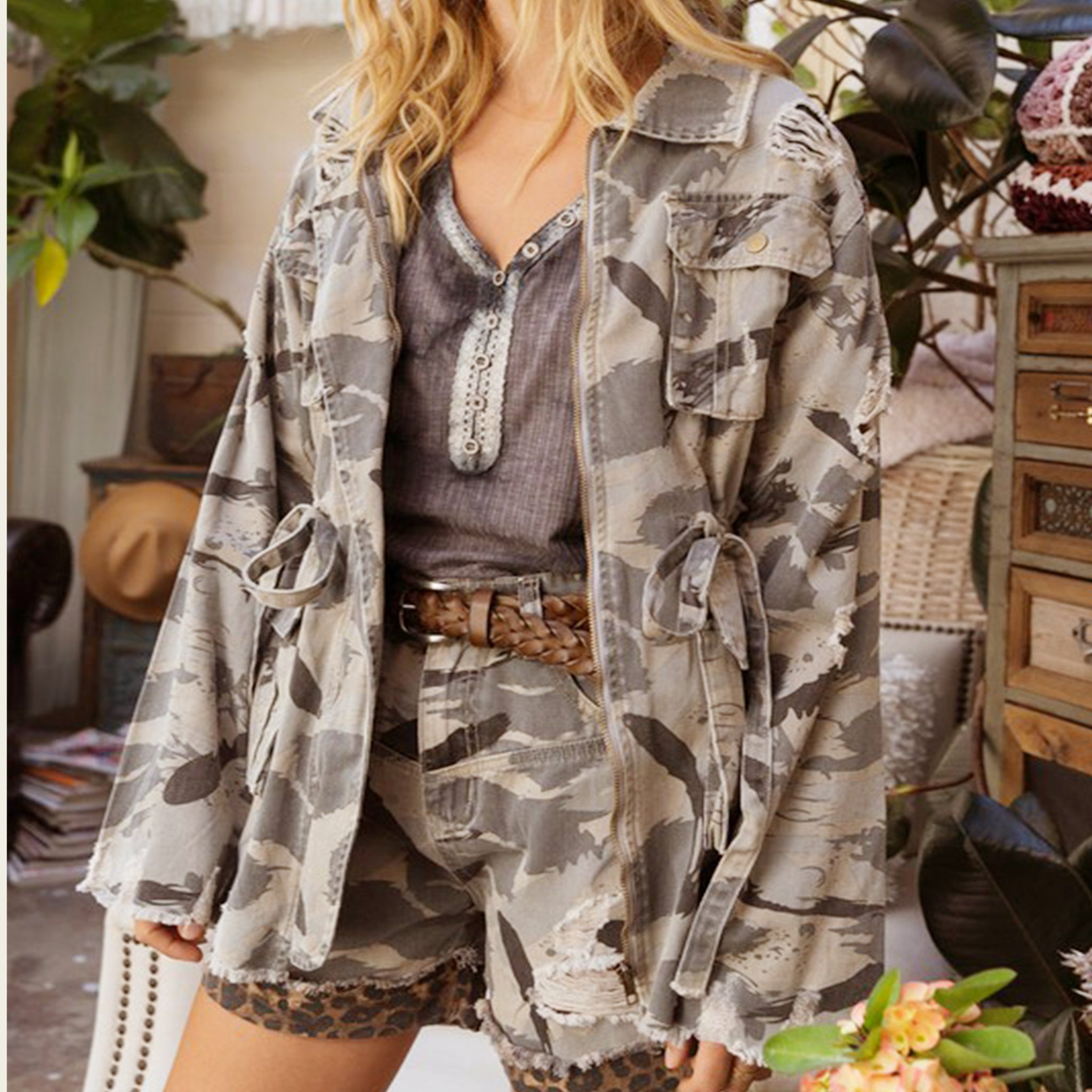 Sweet Camo Jacket - Blackbird General Store