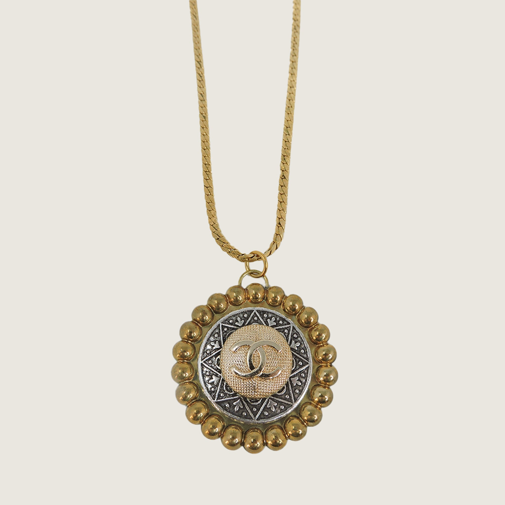 Vintage Chanel Starburst Necklace - Blackbird General Store