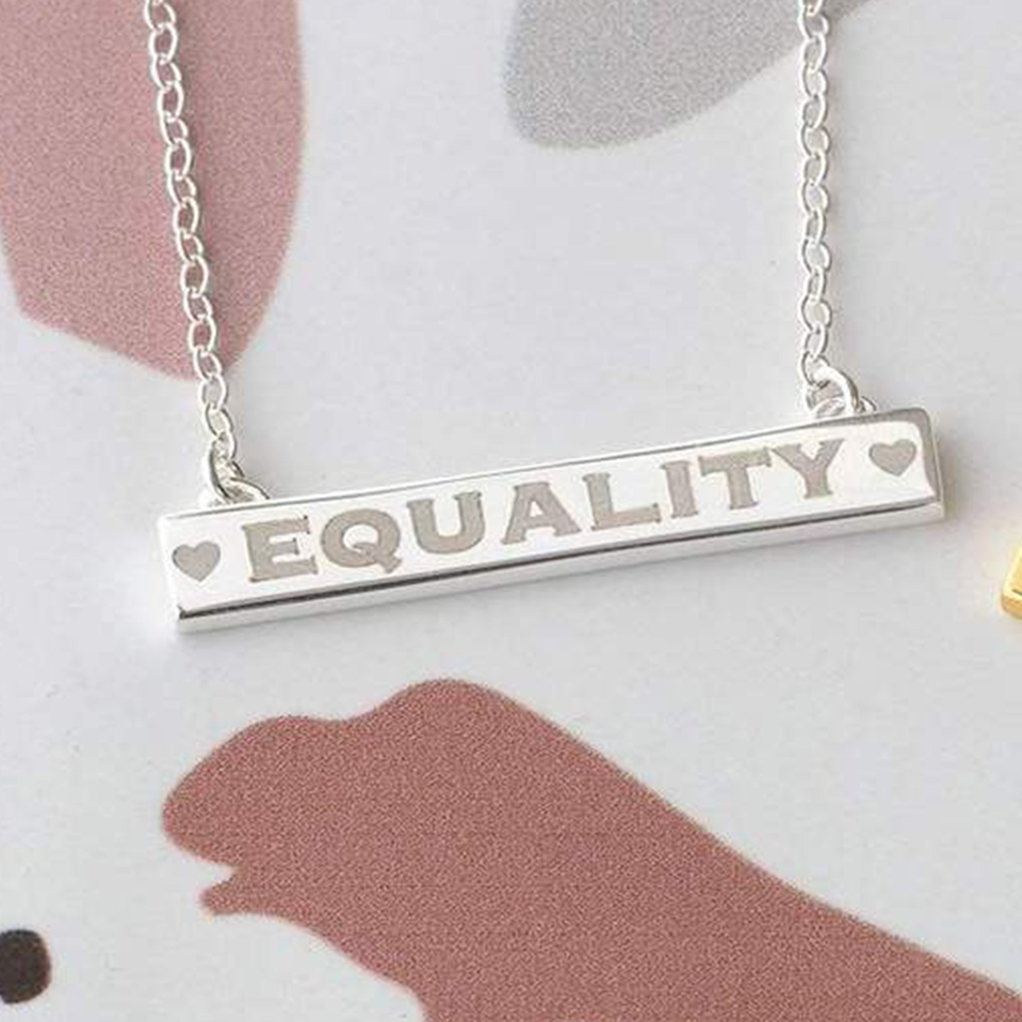 Equality Bar Necklace - Blackbird General Store