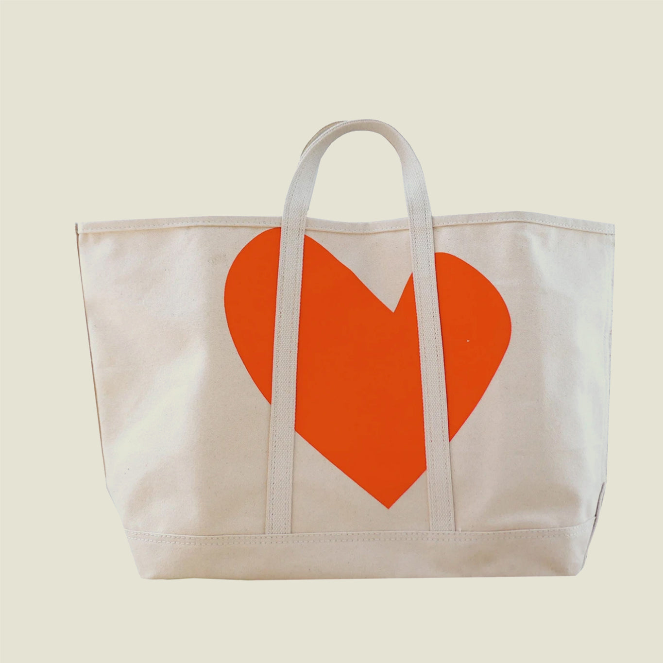 Imperfect Heart Canvas Tote - Blackbird General Store