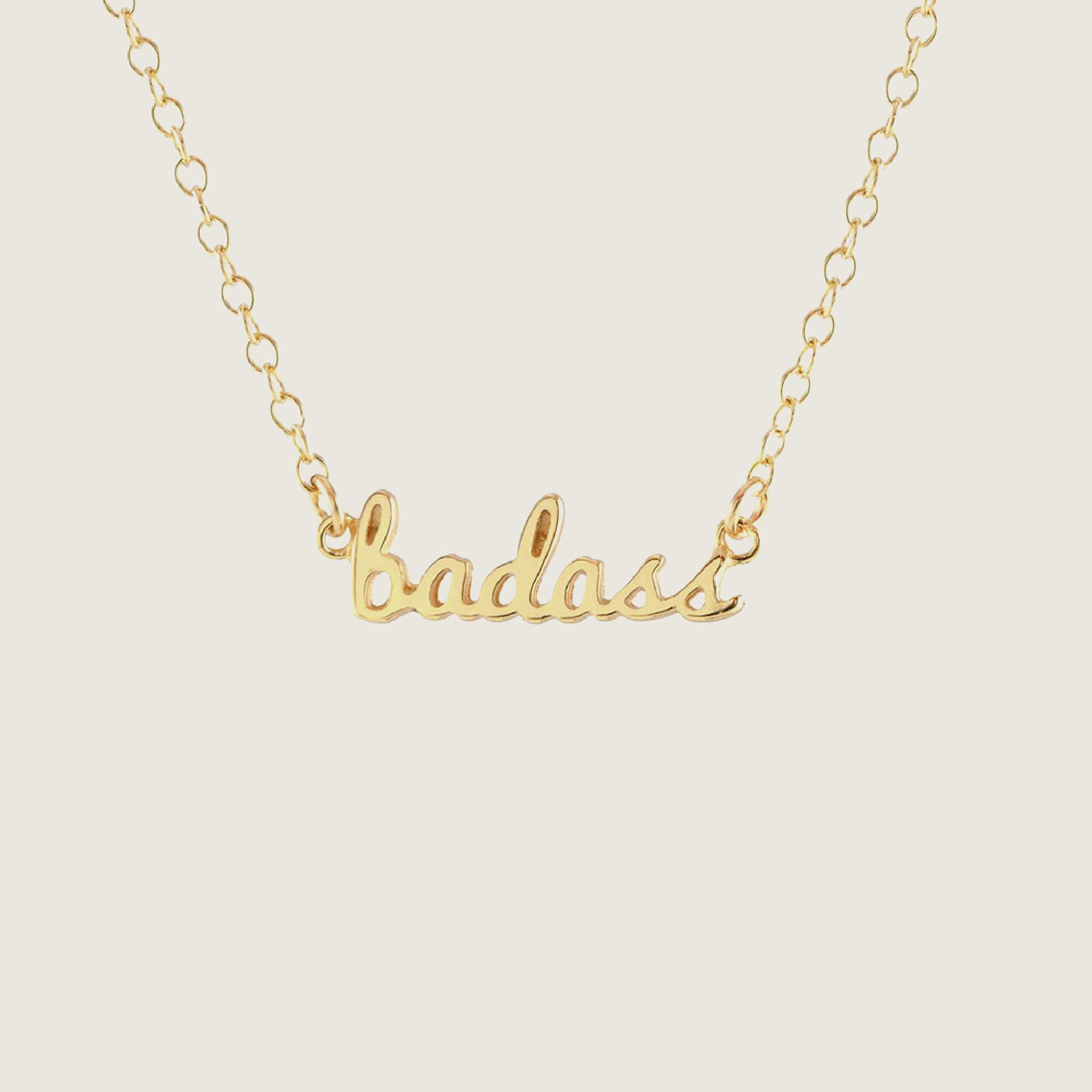 Badass Charm Necklace - Blackbird General Store