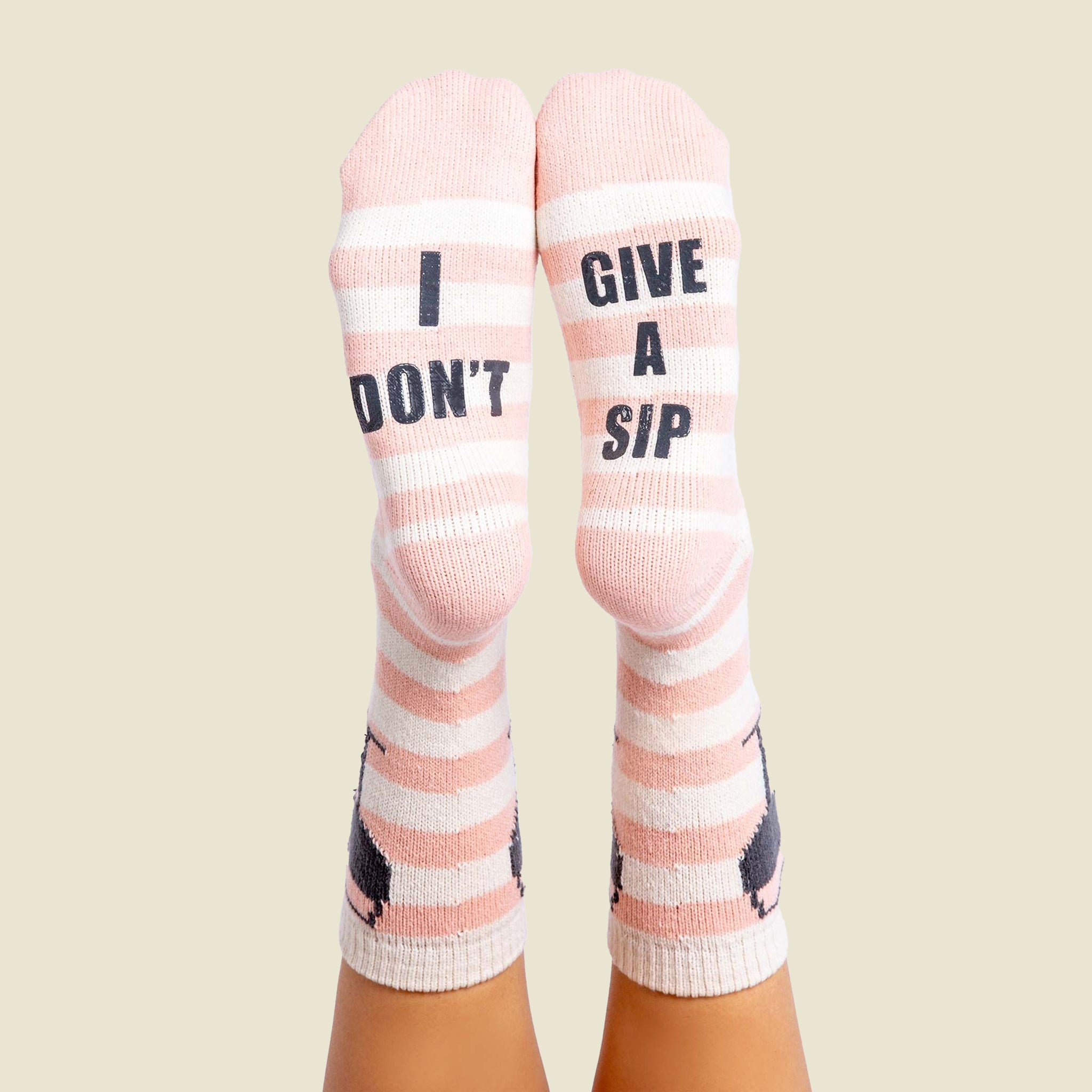 I Don't Give a Sip Socks - Blackbird General Store