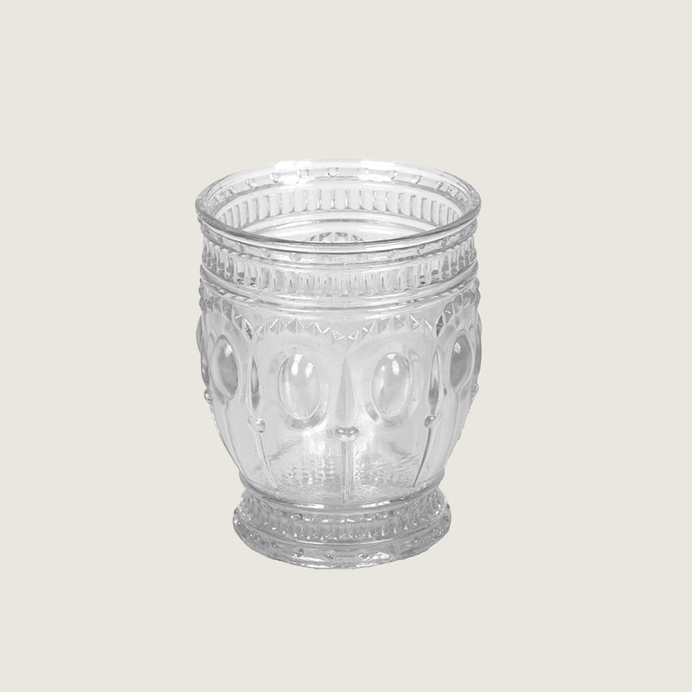 Embossed Drinking Glass - Blackbird General Store