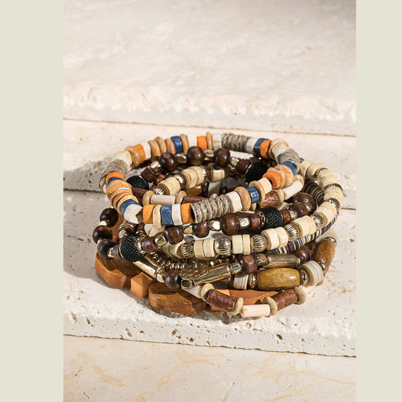 Woodstock Bracelet Stack - Blackbird General Store