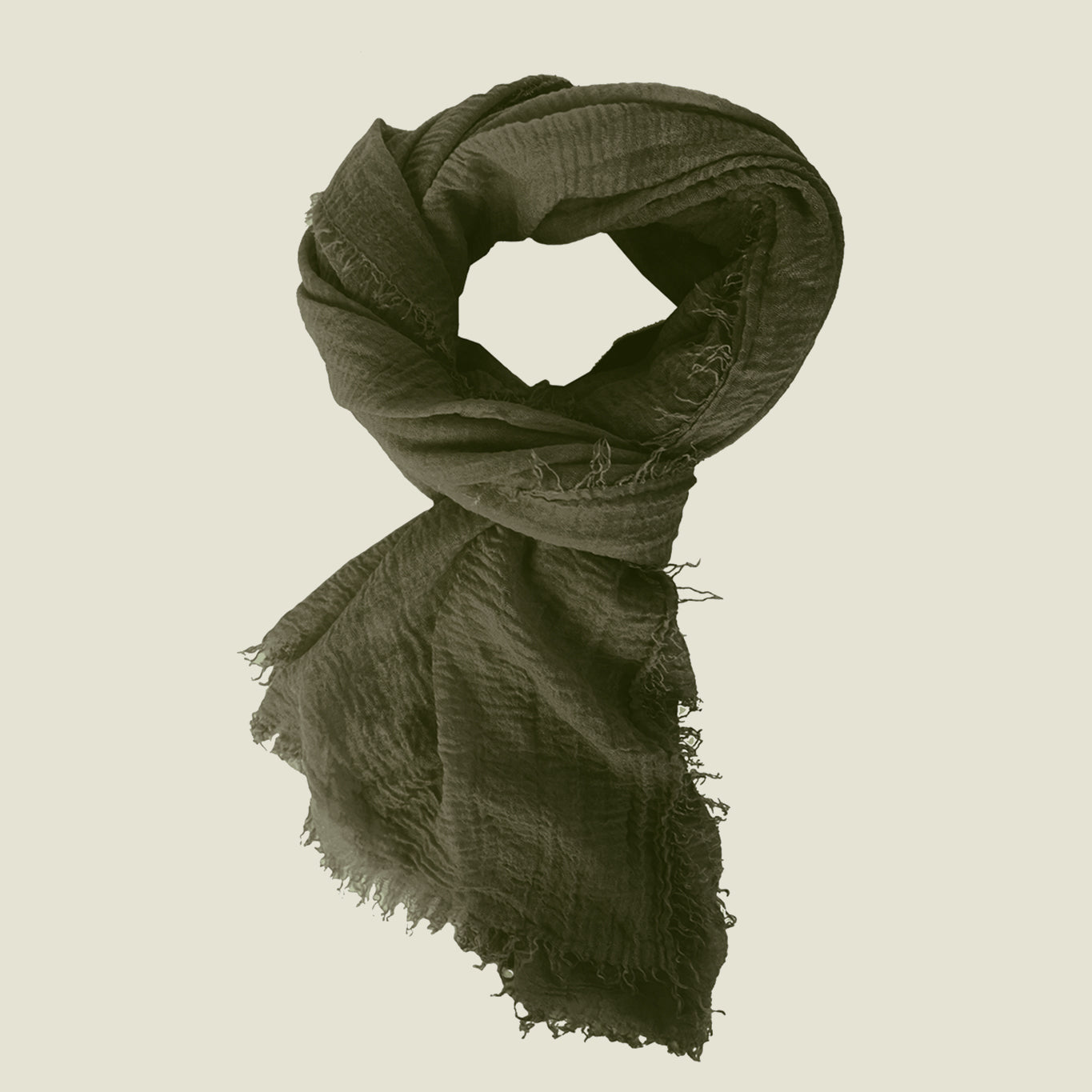 Boho Scarf - Army - Blackbird General Store