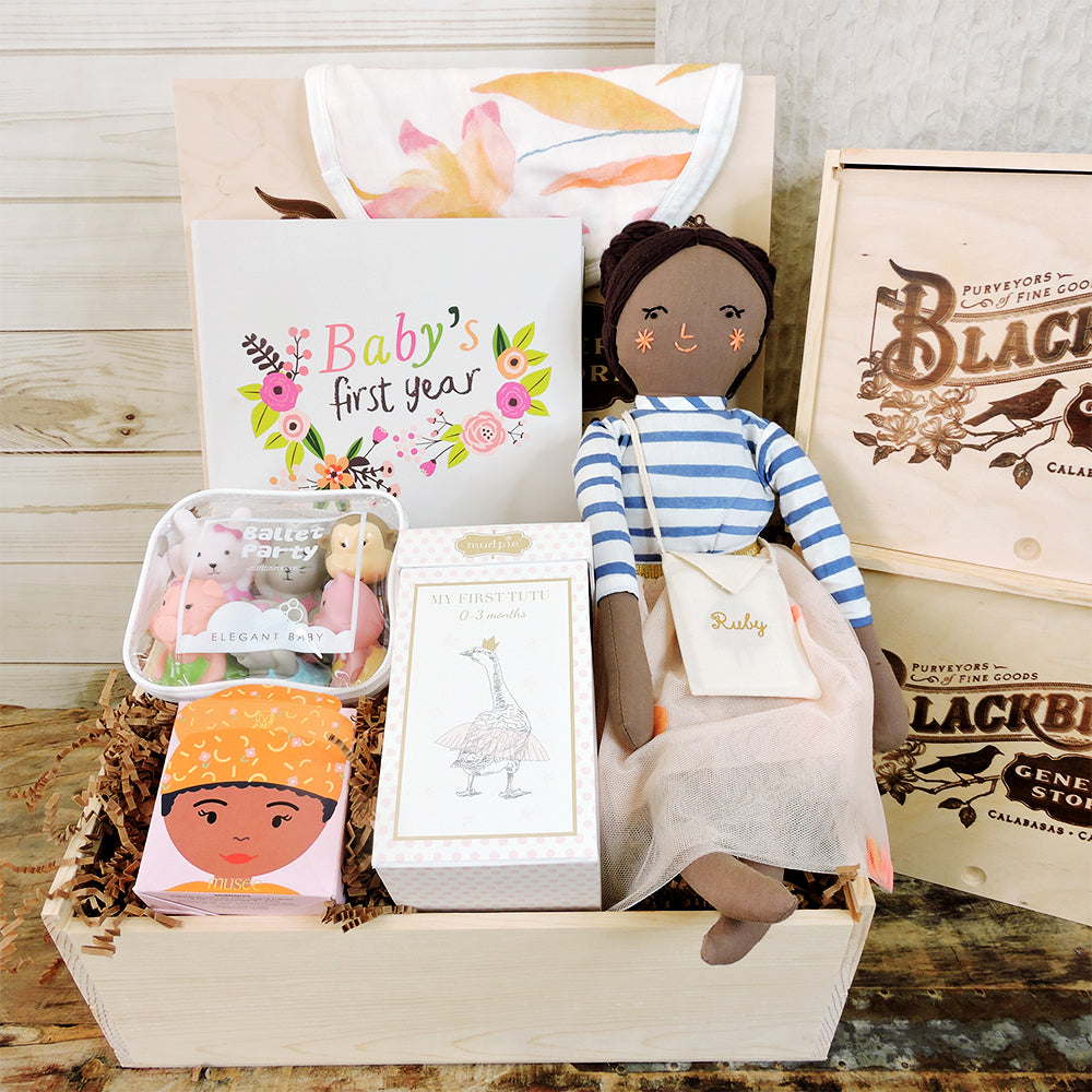 """Baby Ballerina"" Box - Blackbird General Store"