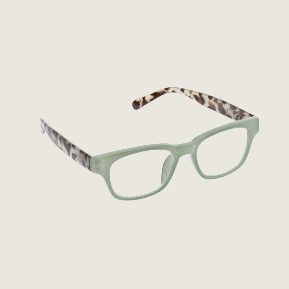 Vintage Vibes Green/Gray Tortoise