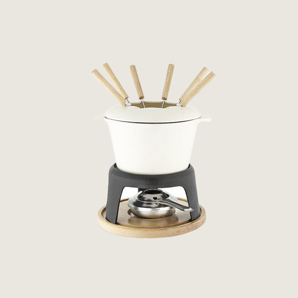 Cast Iron Fondue Set - Blackbird General Store