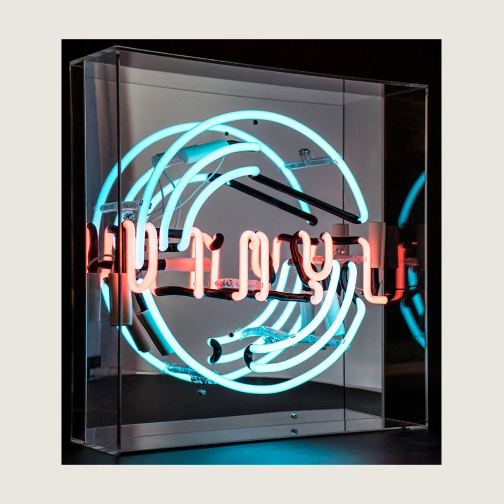 Vinyl Neon Acrylic Box - Blackbird General Store