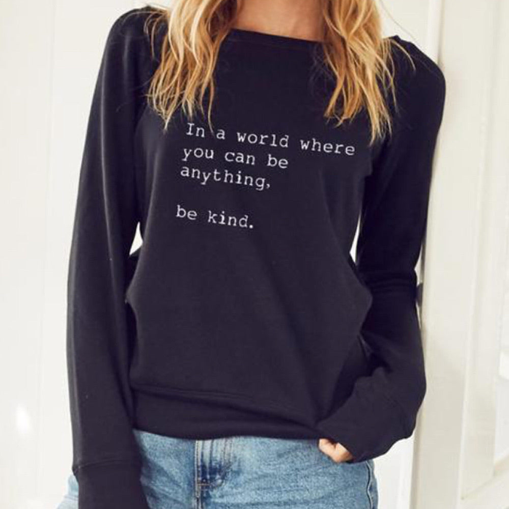 Be Kind Cozy Pullover - Blackbird General Store