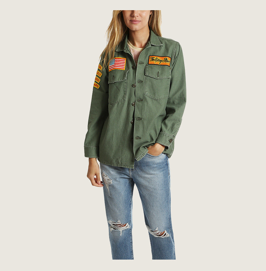Madeworn Rolling Stones Army Jacket - Blackbird General Store