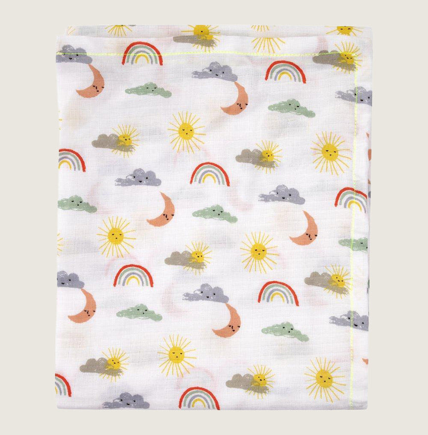 Happy Weather Swaddles (Set of 2) - Blackbird General Store
