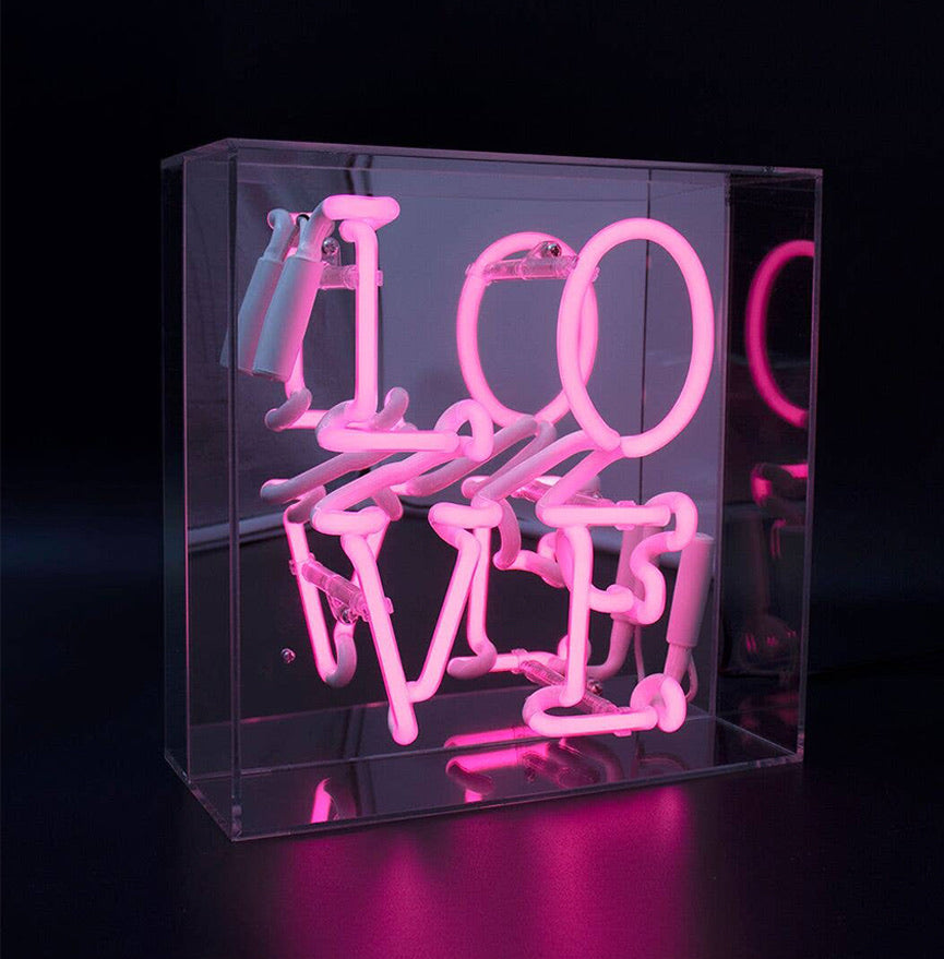 Love Neon Acrylic Box - Blackbird General Store