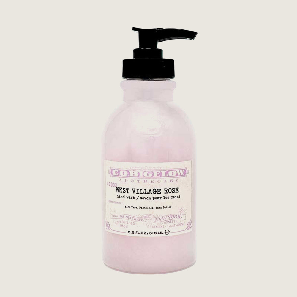 West Village Rose Hand Wash - Blackbird General Store