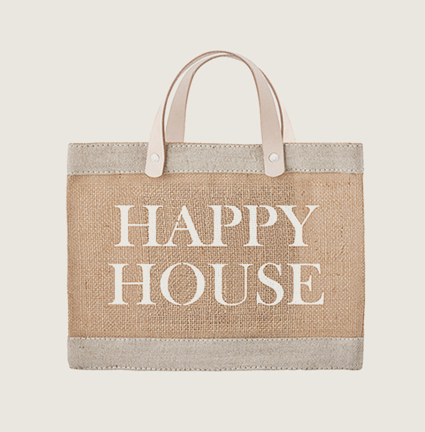 Happy House Tote - Blackbird General Store