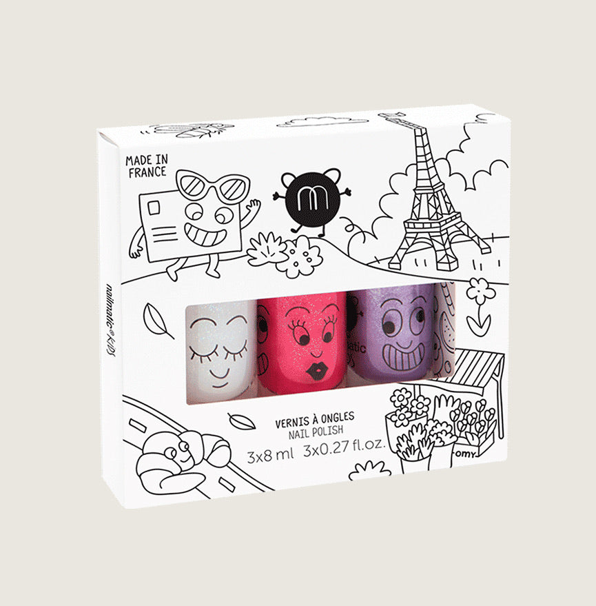 City Nail Polish set/3 - Blackbird General Store