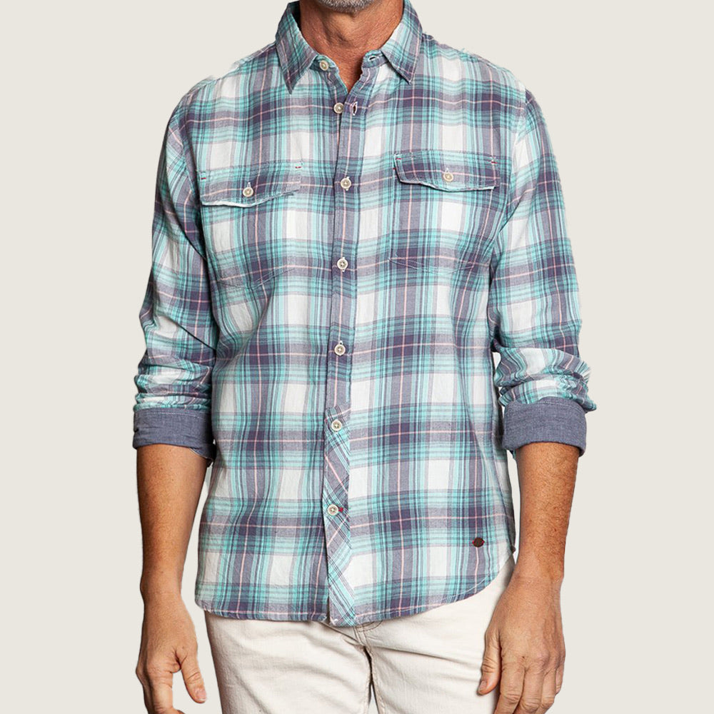 Green Plaid Malibu Shirt - Blackbird General Store