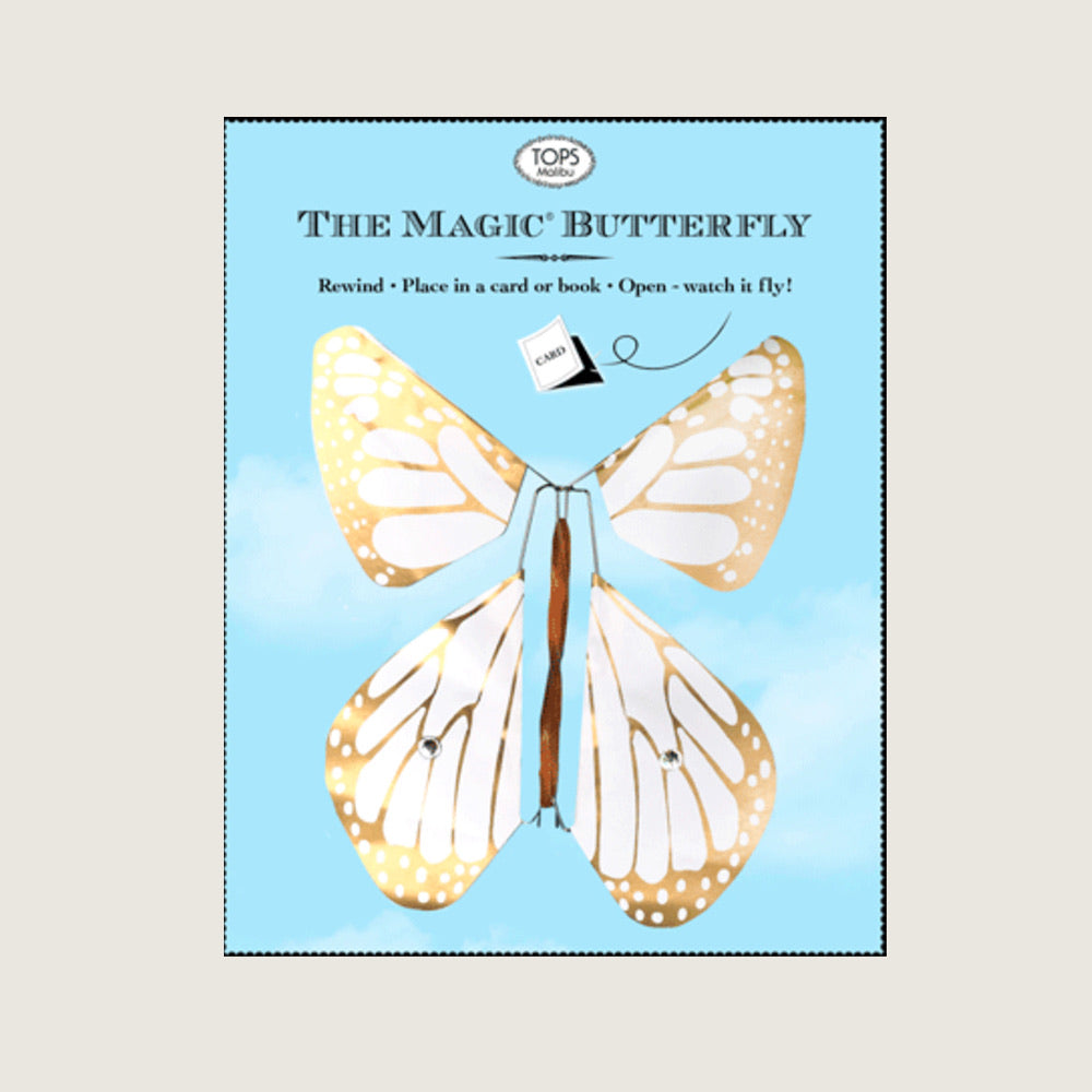Magic Flying Butterfly - Gold - Blackbird General Store