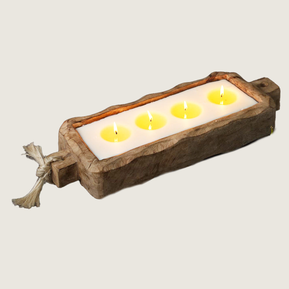 Driftwood Tray Candle - 44oz - Blackbird General Store