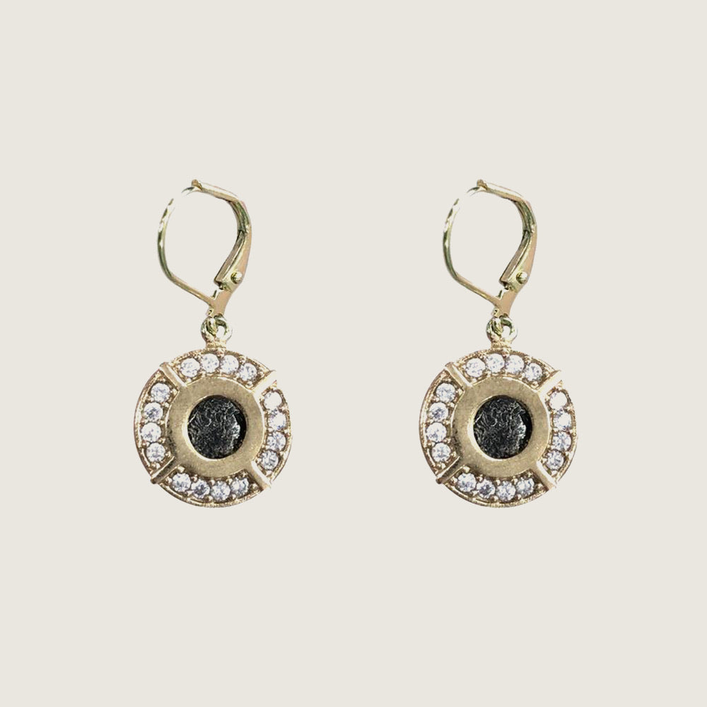 Gold Frame Mini Cornelia Earrings - Blackbird General Store
