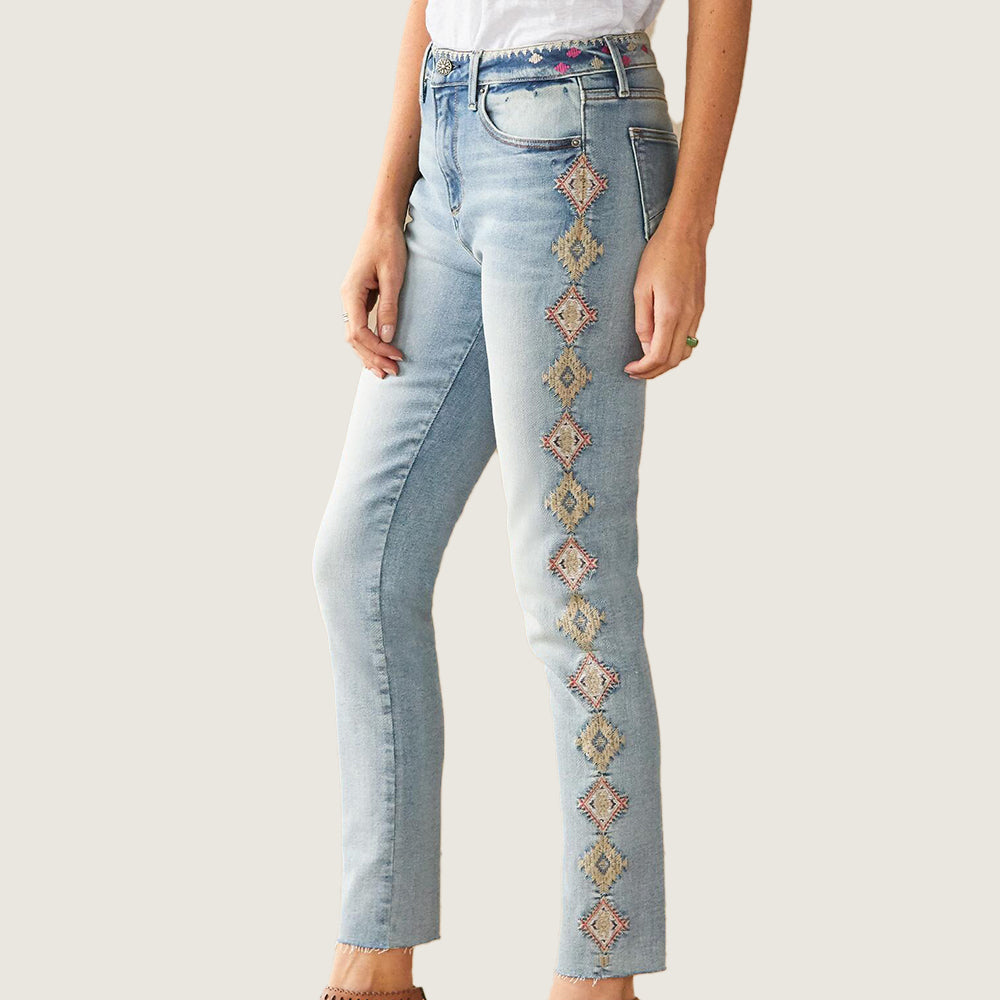 Jackie Chamomile Jeans - Blackbird General Store