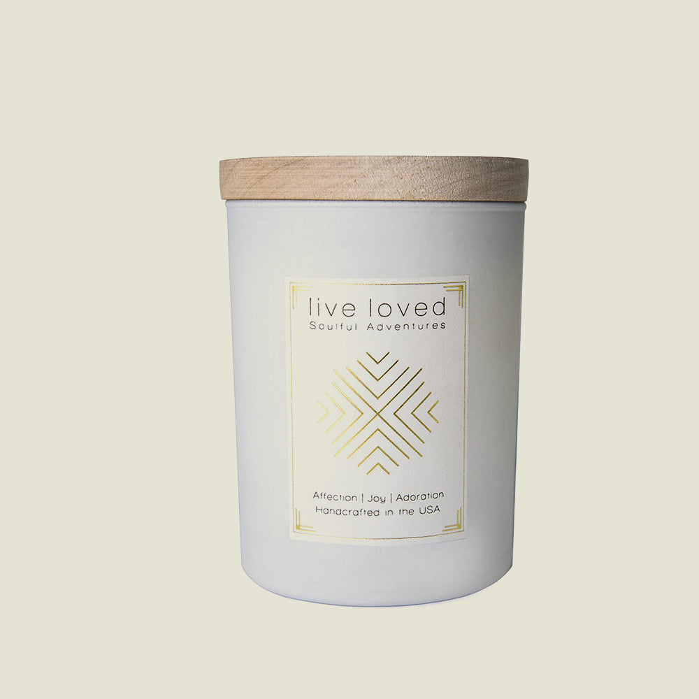 Live Loved Candle - Blackbird General Store