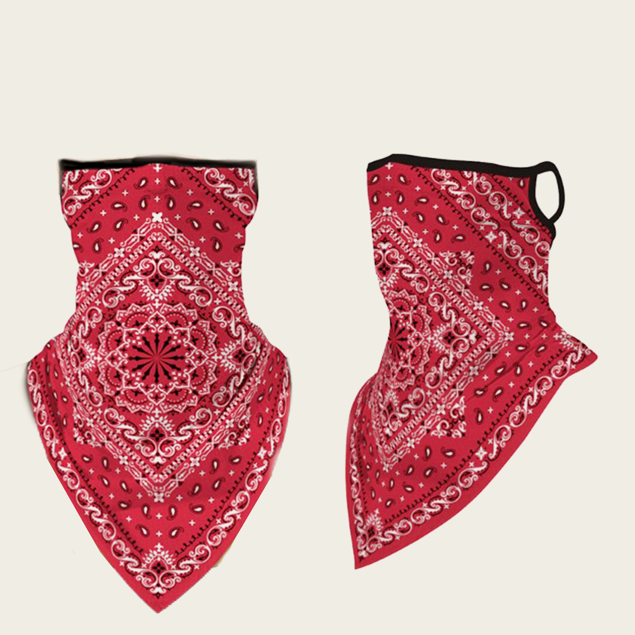 Red Bandana Face Cover - IN STOCK - Blackbird General Store