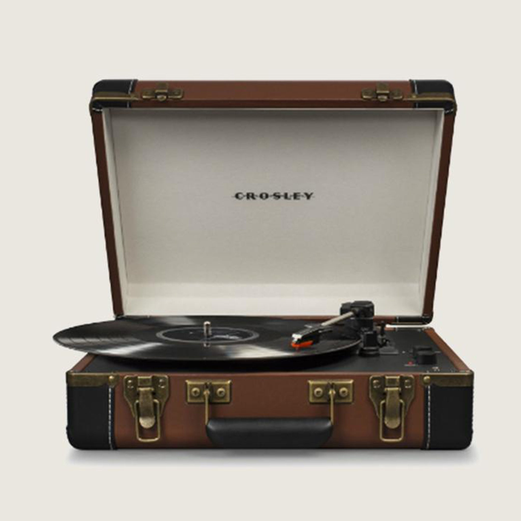 Executive Deluxe Turntable - Brown