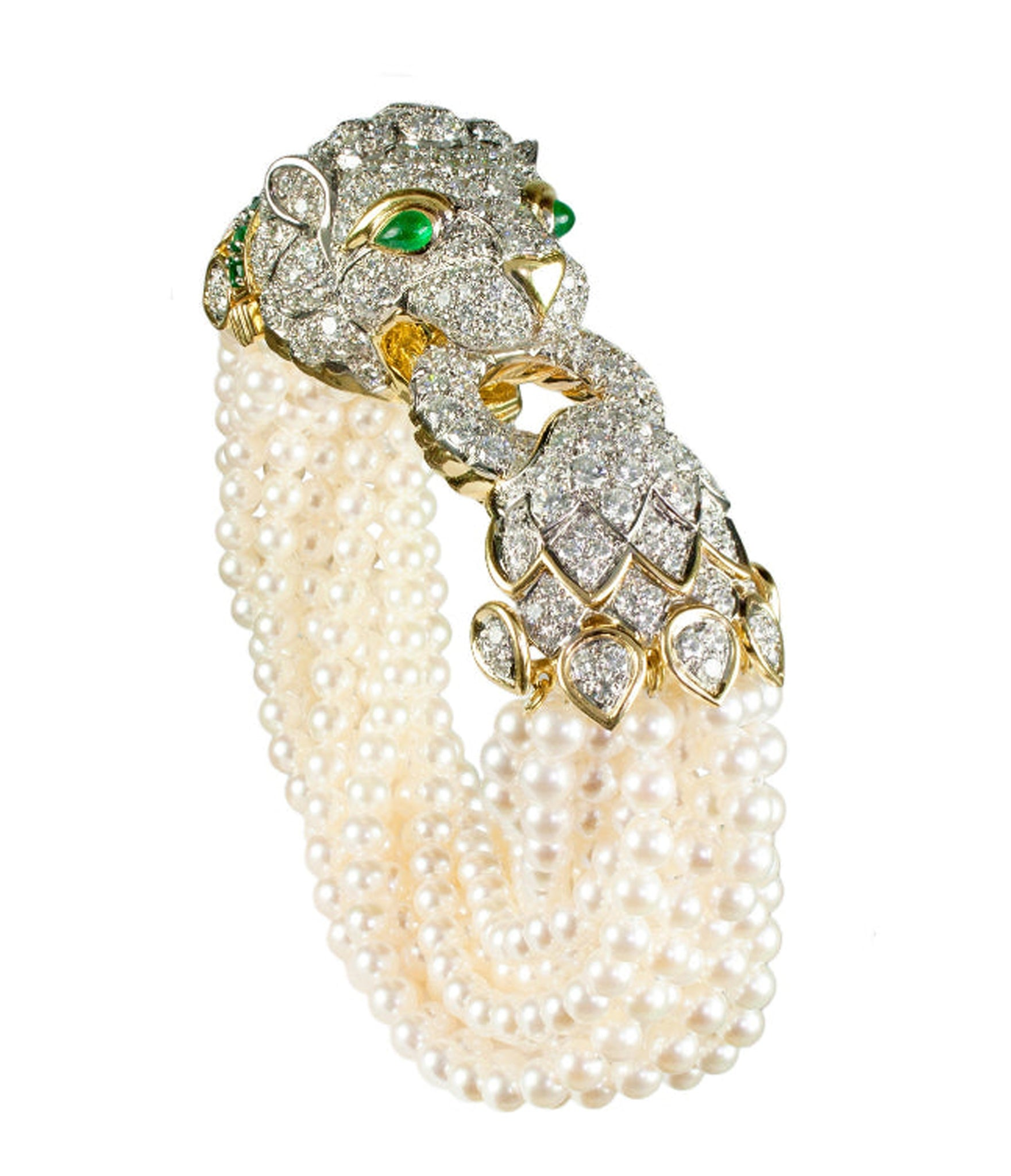 The Elizabeth Taylor Lion Bracelet
