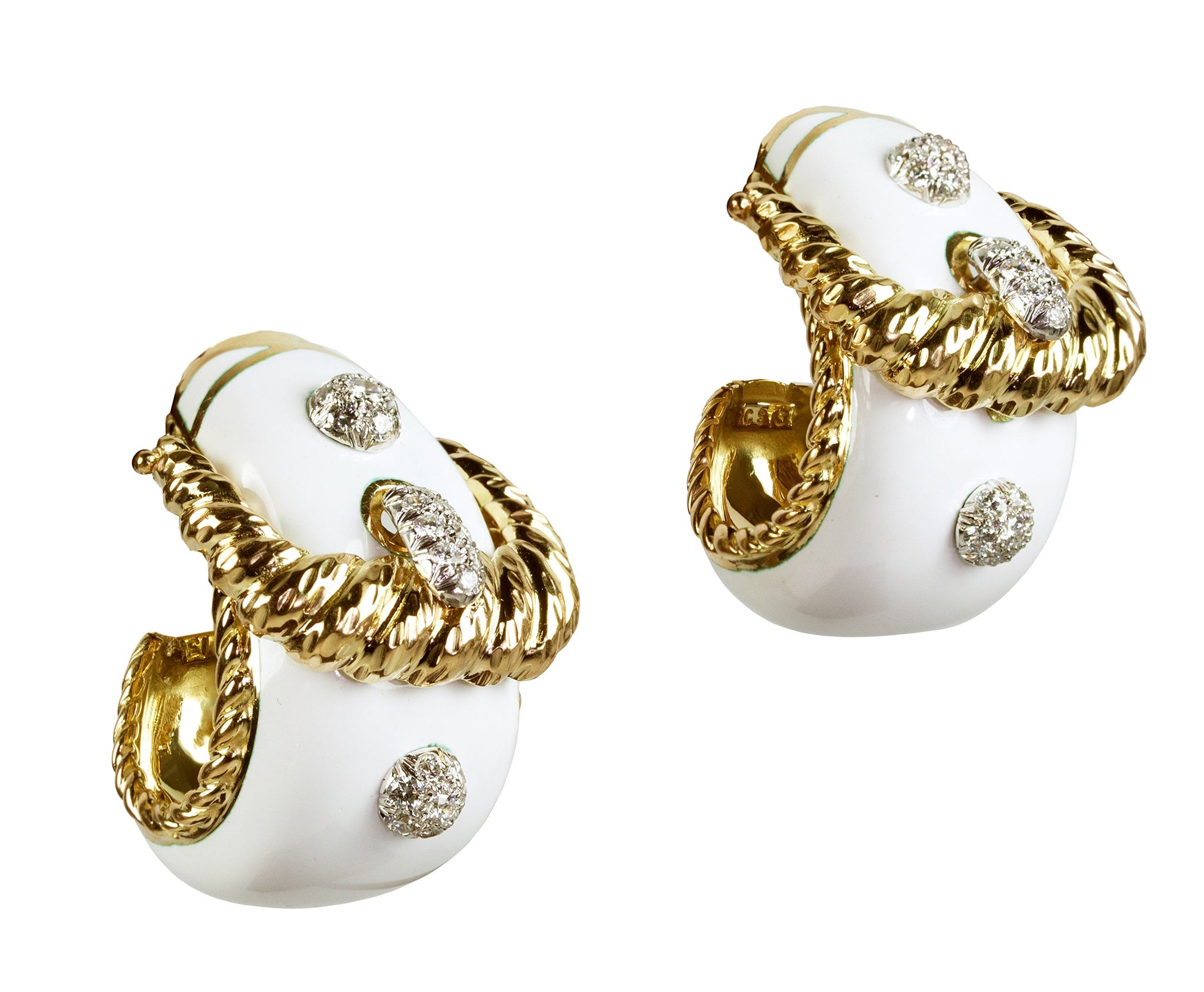 Buckle Earrings