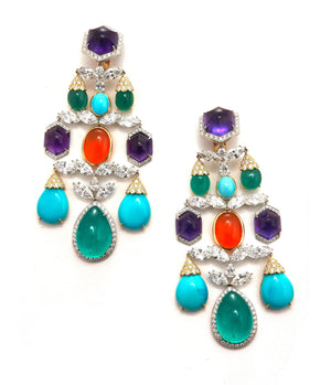 Grand Girandole Earrings