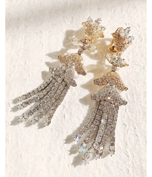 Couture Cross River Tassel Earrings