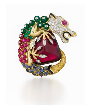 Couture Dragon Brooch