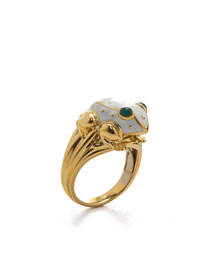 Baby Frog Ring