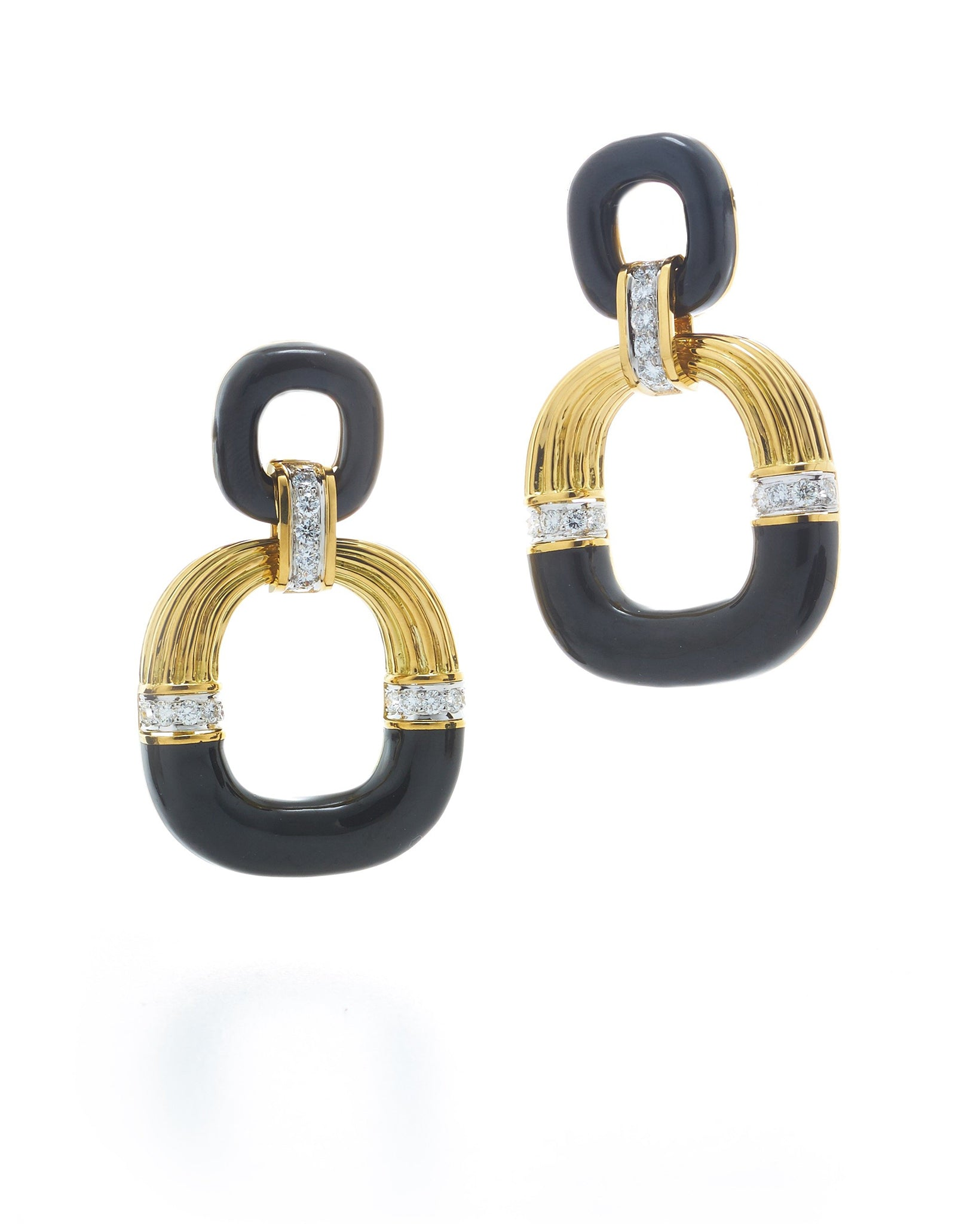 Radiator Hoop Earrings