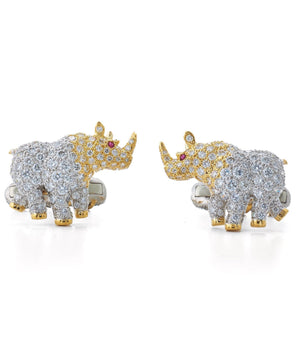 Rhinoceros Cuff Links