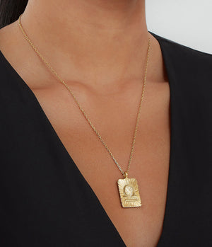 DavidWebb_Zodiac_Necklace_Libra_18K_1