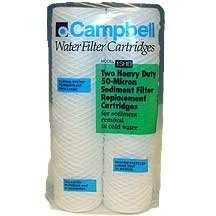 Campbell 1SHD-12 50-Micron Sediment Filter 2 - 2 Packs