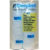 Campbell 1C9-12 Taste & Odor 2 Micron Filter Cartridge 2 - 2 Packs